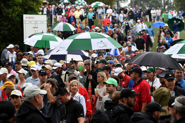 Image: Masters Par-3 Contest canceled