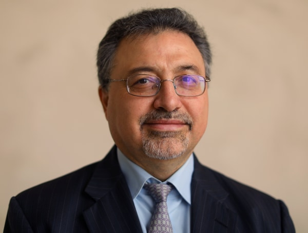 Image: Activist investor Bashar Qasem, President and CEO of Azzad Asset Management Inc, is pictured at a conference in Huntington Beach, California