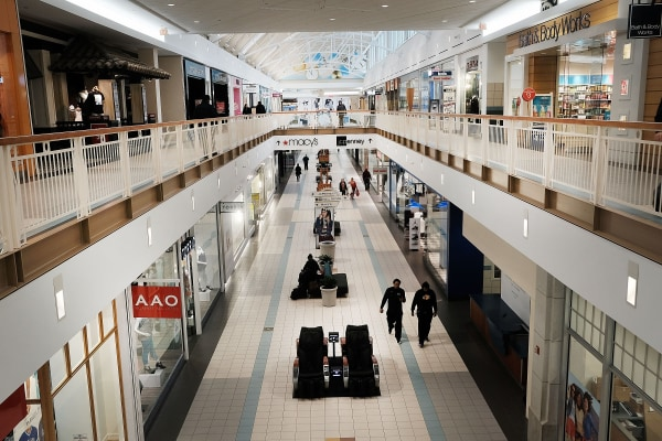 Image: Thousands Of Malls Across U.S. Threatened As Retail Stores Pull Out