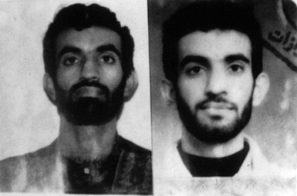 Image: Ramzi Ahmed Yousef, shown in these undated file photos, was sentenced to life in prison without parole for masterminding the 1993 World Trade Center explosion and a plot to bomb a dozen U.S. passenger airliners.