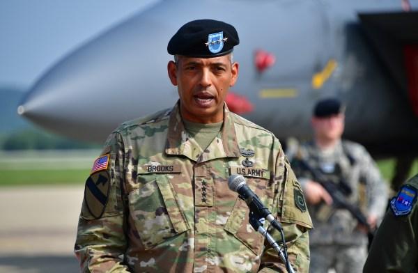 Image: U.S. Gen. Vincent Brooks