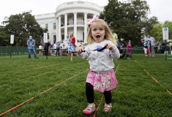 Image: White House Easter Egg roll