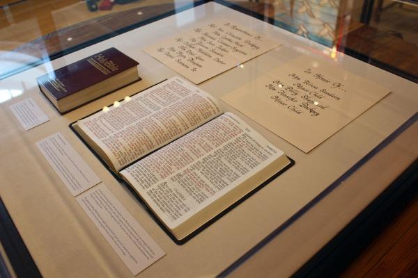 Image: Charleston International Airport Bibles