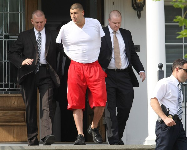 Image: Arrest Of New England Patriots Player Aaron Hernandez