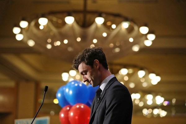 Image: Georgia Democratic Candidate Jon Ossoff