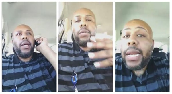 Image: Steve Stephens in FB video