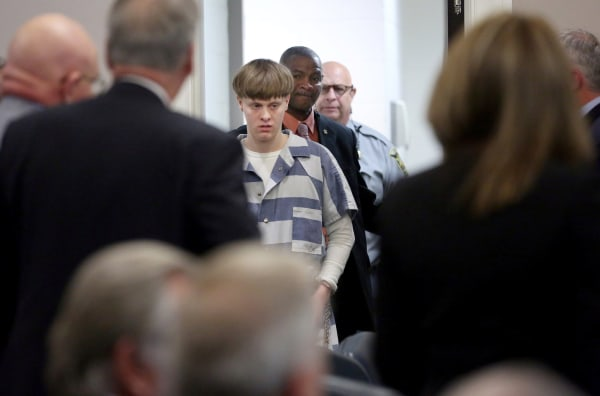 Charleston Shooter Dylann Roof Moved To Death Row In Terre