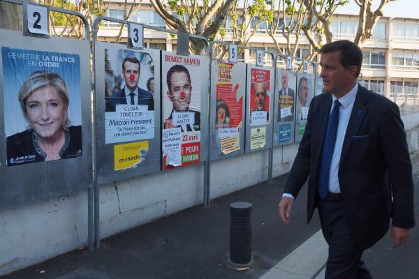 Image: FRANCE2017-VOTE