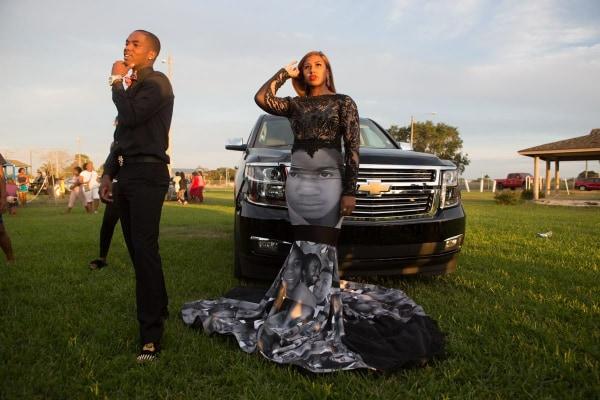 Black Lives Matter Inspired Prom Dress