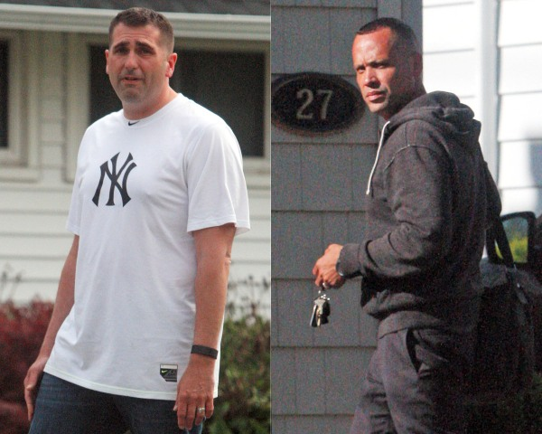Image: Paul Dean (L) and David Villanueva shown in this composite