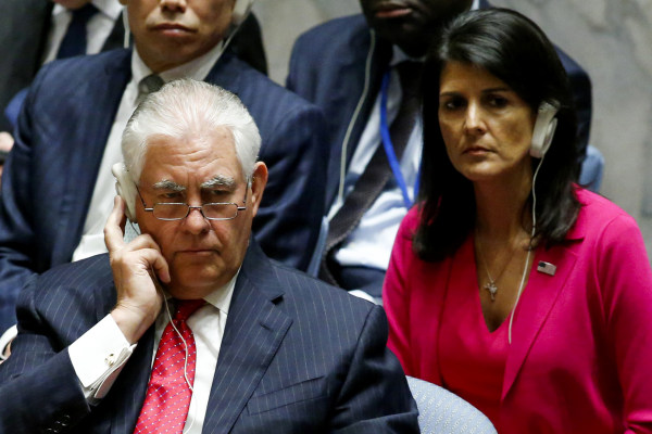 Image: Rex Tillerson Chairs UN Security Council Meeting On Nonproliferation Of North Korea