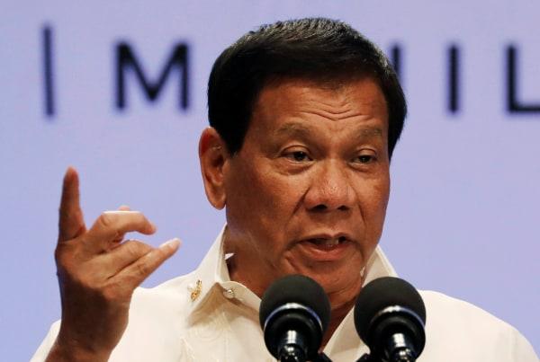 Image: Philippine President Rodrigo Duterte
