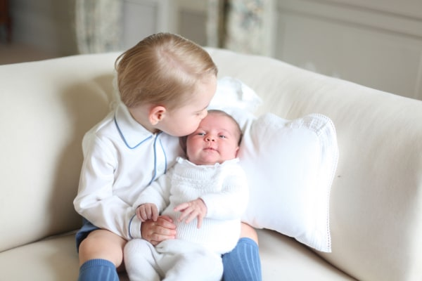 Image: Princess Charlotte's second birthday