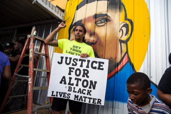 Image: Alton Sterling Vigil