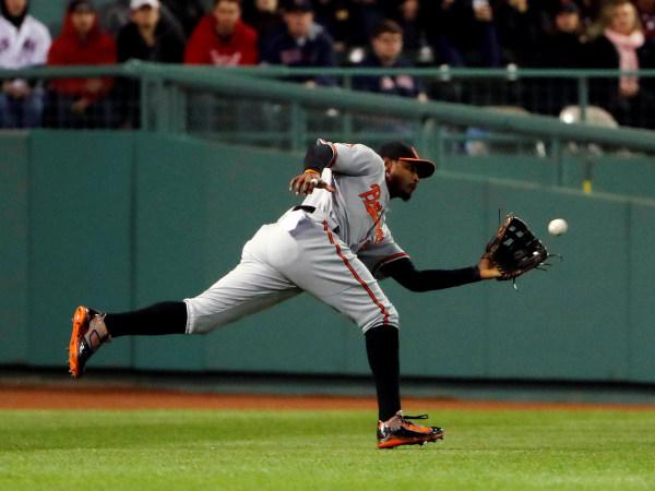 Image: Baltimore Orioles center fielder Adam Jones