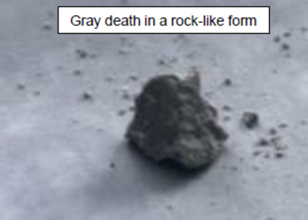 Image: Gray death rock
