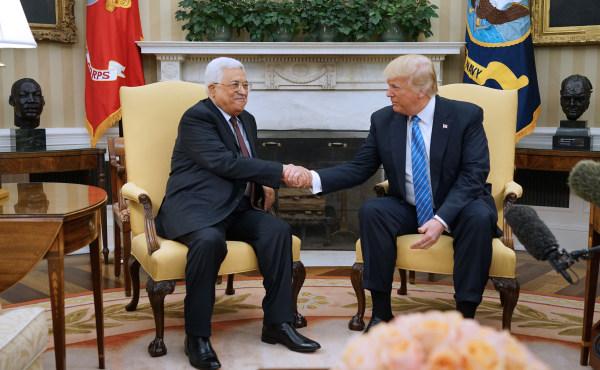 Image: US-PALESTINIANS-DIPLOMACY-TRUMP-ABBAS