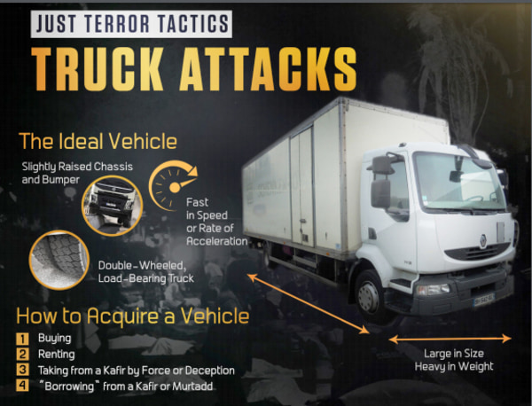 Image: Truck Attacks Poster Propaganda
