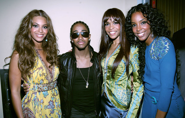 Image: Omarion and Destiny's Child at BET Awards 05