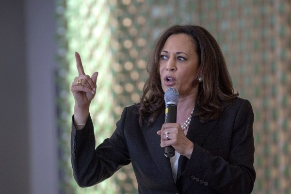 Image: Sen. Kamala Harris (D-CA) Holds Town Hall Meeting In Los Angeles