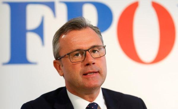 Image: Former presidential candidate Norbert Hofer