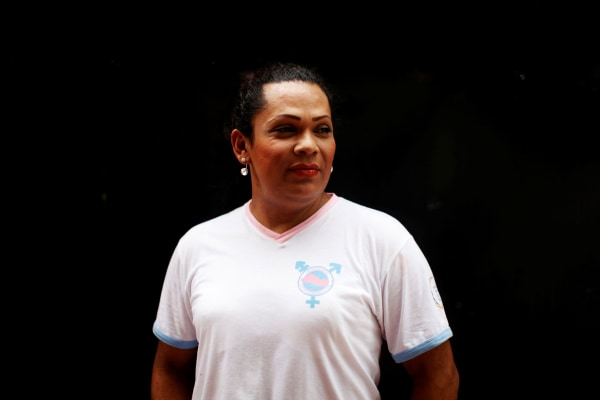 Image: Karla Avelar, executive director of the Association for Communicating and Training Trans Women