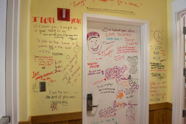 Image: The Mindfulness Room at Carnegie Mellon University in Pittsburgh