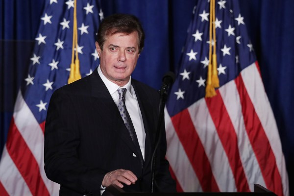 Image: FILE: Paul Manafort Resigns As Trump Campaign Chair