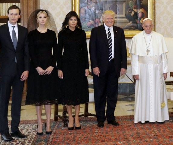 Image: US President Donald J. Trump visits the Vatican