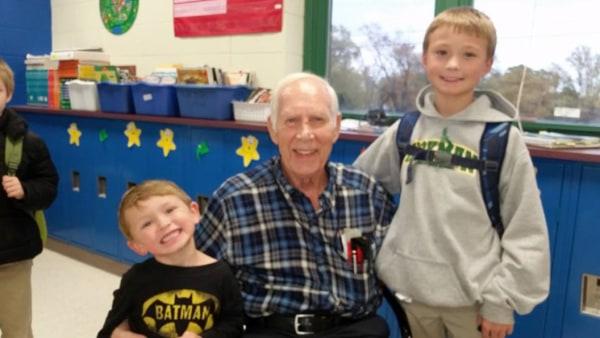 Image: 91-year-old Teacher