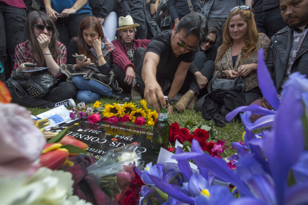 Image: Chris Cornell Funeral Service