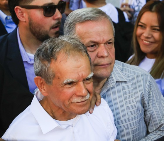 Image: Oscar Lopez Rivera welcoming celebration in Chicago