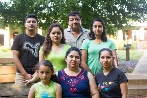 Image: Juana Tobar Ortega and family