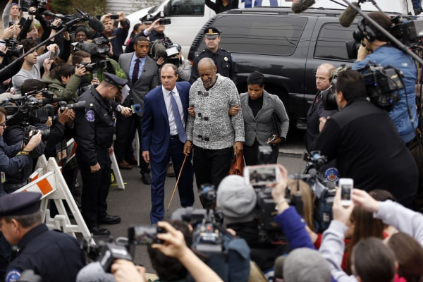 Image: Bill Cosby arrives at court in Elkins Park, Pennsylvania