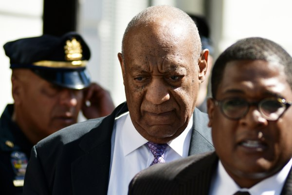 Image: Bill Cosby departs Montgomery County Courthouse after the fifth day of the sexual assault trail in Norristown, Pennsylvania