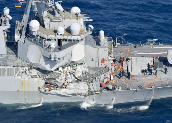 Image: USS Fitzgerald Collision