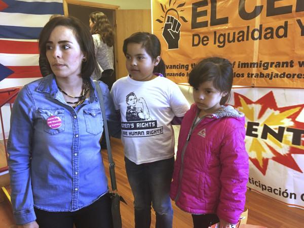 Jessica Rodriguez, Jennifer Lujan, Jocelynn Lujan