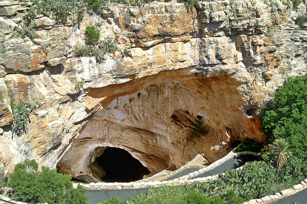 Image: Carlsbad Caverns in New Mexico