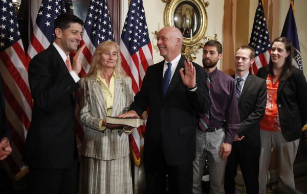 Paul Ryan, Greg Gianforte