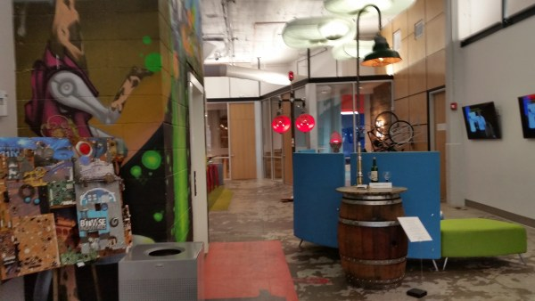 Image: Lobby of Bitwise Industries