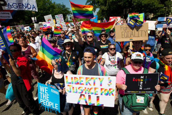 Image: US-EQUALITY-MARCH-PRIDE-PARADE