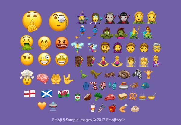 Image: New emojis