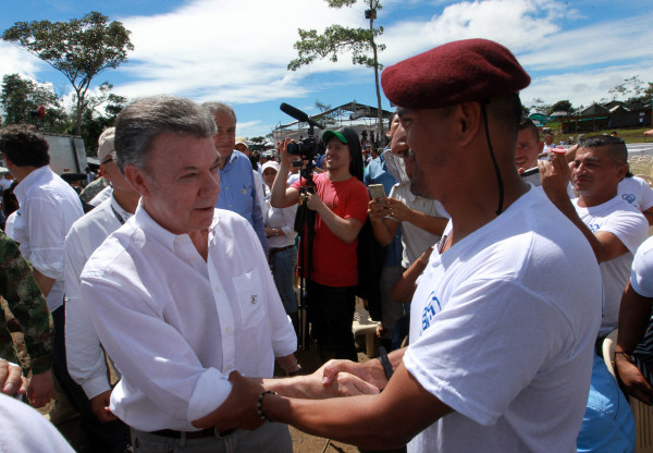 Image: FARC Ends Insurgency with Ceremony in Former Stronghold Mesetas