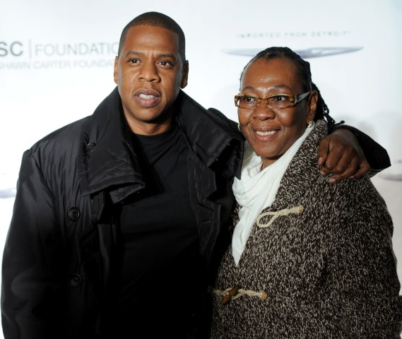 Image: Jay Z and Gloria Carter