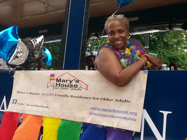 Image: Dr. Imani Woody is working to raise $2 million to transform her childhood home into Mary's House D.C.