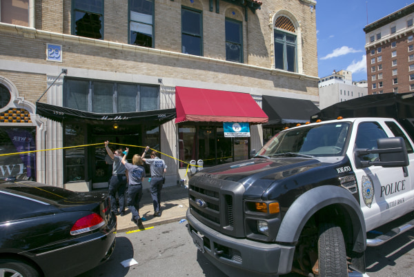 Image: Dozens Injured In Arkansas Nightclub Shooting