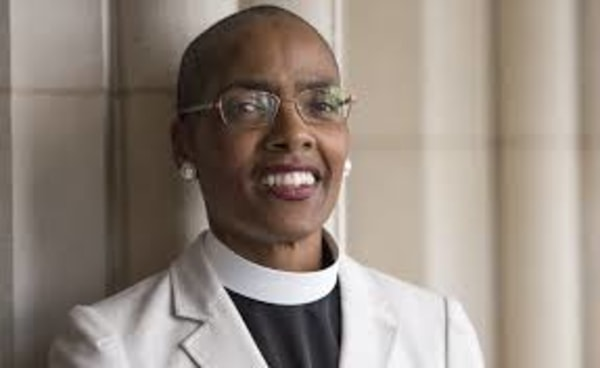 Image: Dr. Kelly Brown Douglas is the Dean at the Episcopal Divinity School at Union Theological Seminary.