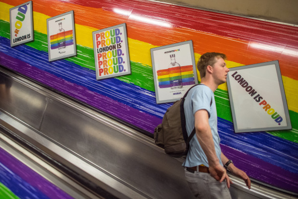 Image: London Supports Gay Pride 2017