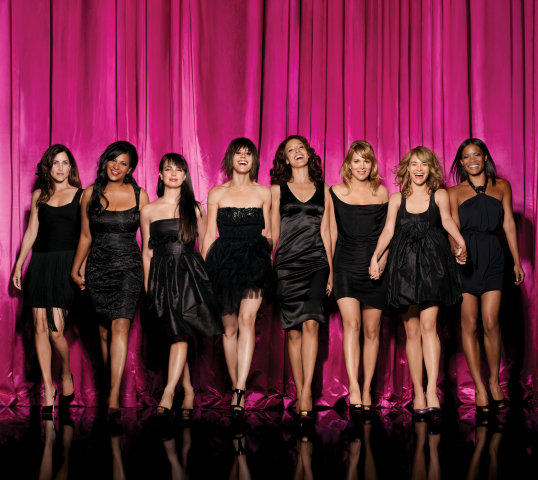 Image: The cast of The L Word