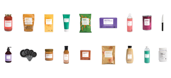 Image: Brandless assorted items